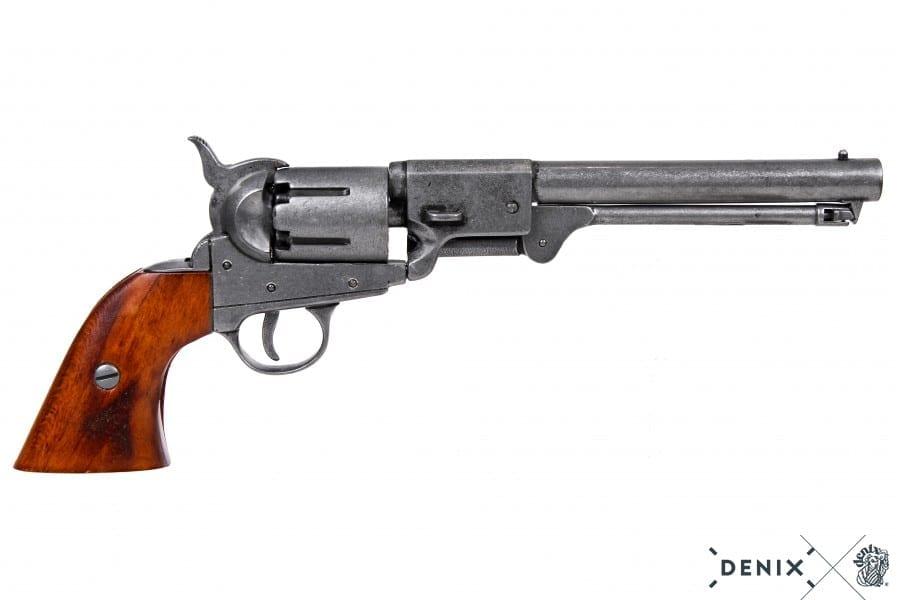 DLT Volume Priced Cast Iron Vintage Style Revolver Replica Gift